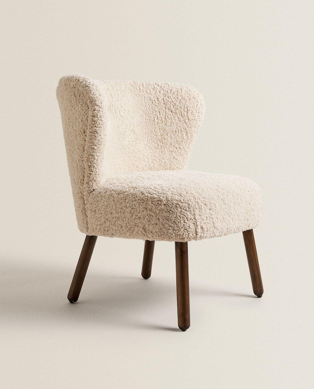 Siege Coton Boucle 199 Armchair Furniture Zara Home Armchair