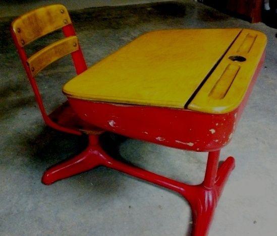 Vintage School Desk Vintage School Desk Old School Desks