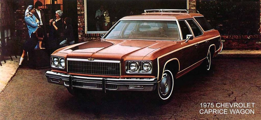 75 Chevrolet Caprice Wagon Bronz Brown Large Chevrolet Caprice Chevrolet Wagon