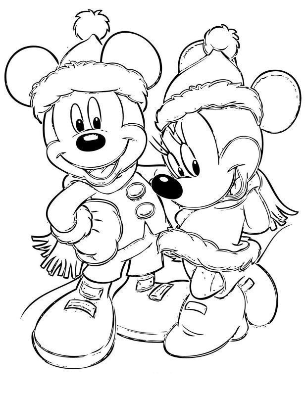 Dibujos De Navidad Para Colorear De Disney Channel Free Christmas Coloring Pages Mickey Mouse Coloring Pages Minnie Mouse Coloring Pages