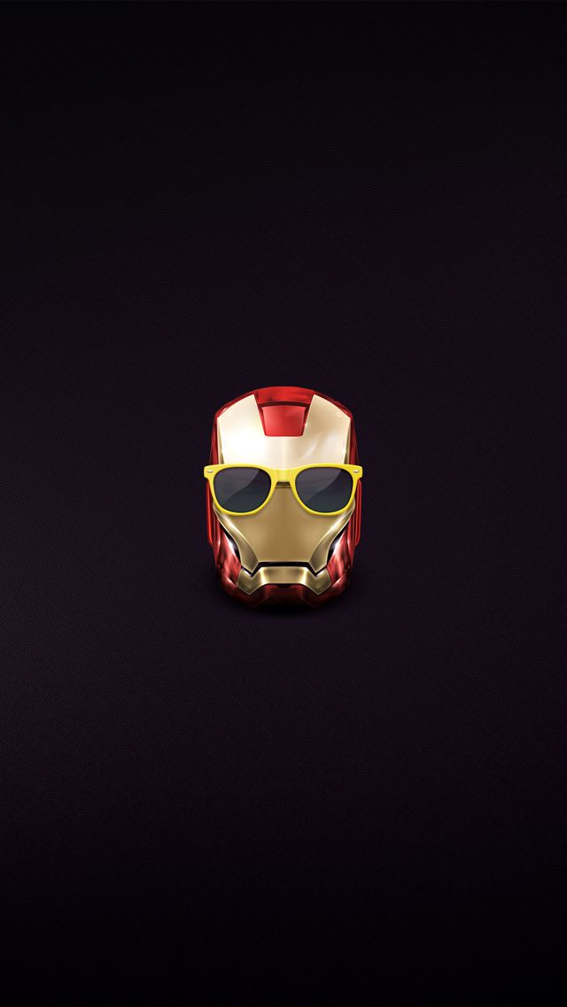 Hipster Iron Man 3 Helmet Iphone 5 Wallpaper Jpg 640 1 136 Pixels