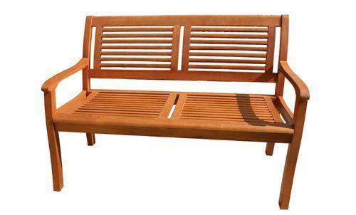 Gartenbank Eukalyptus 2 Sitzer Holzbank Casaya | # Gartenbänke ...
