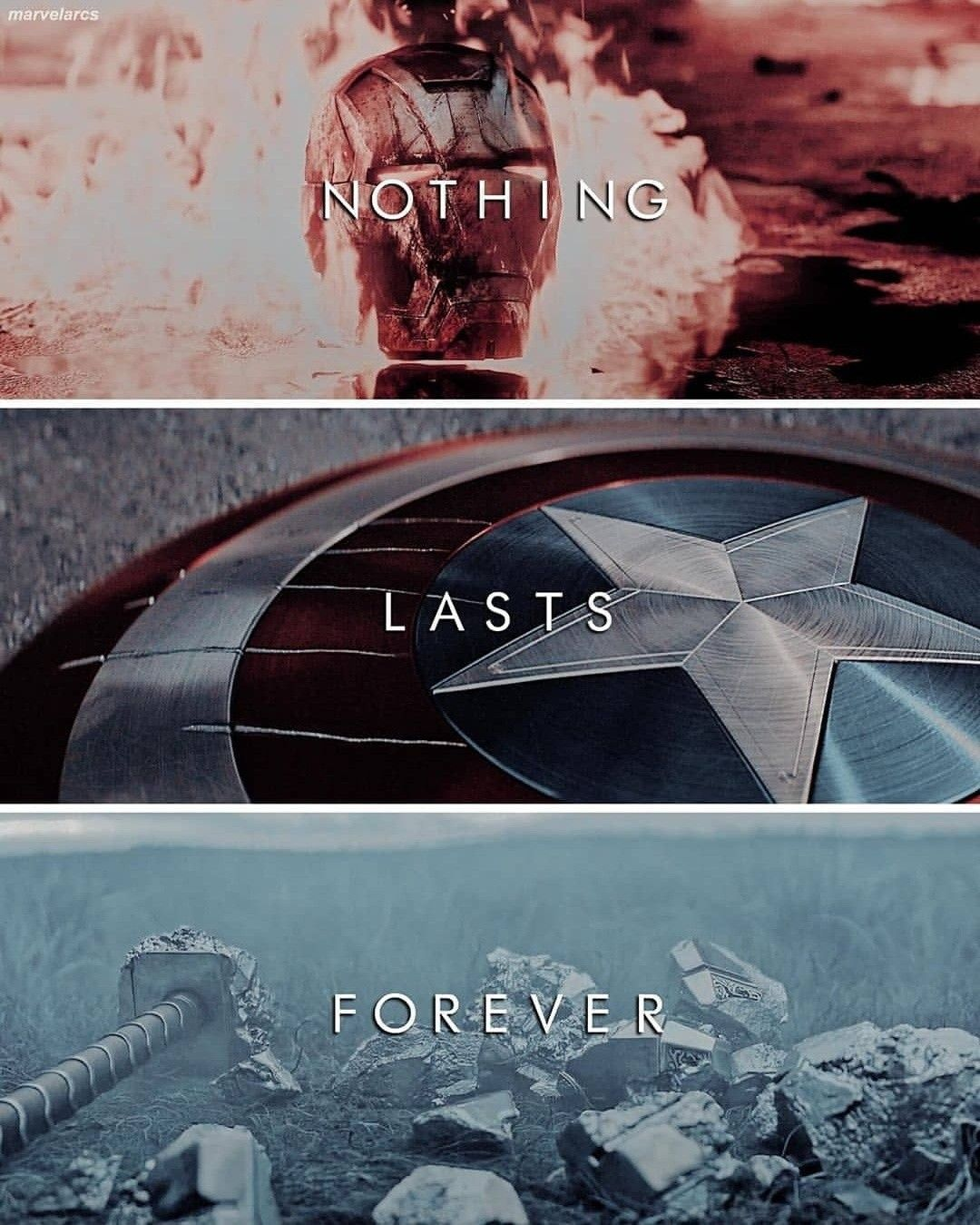 Nothing Lasts Forever Profile Pic Avengers Marvel