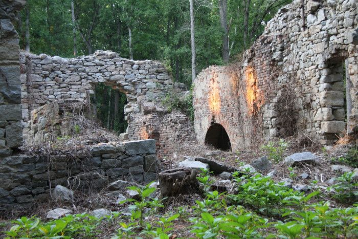 Learn more about Virginia's history as you trek to ruins of decades and centuries gone by.