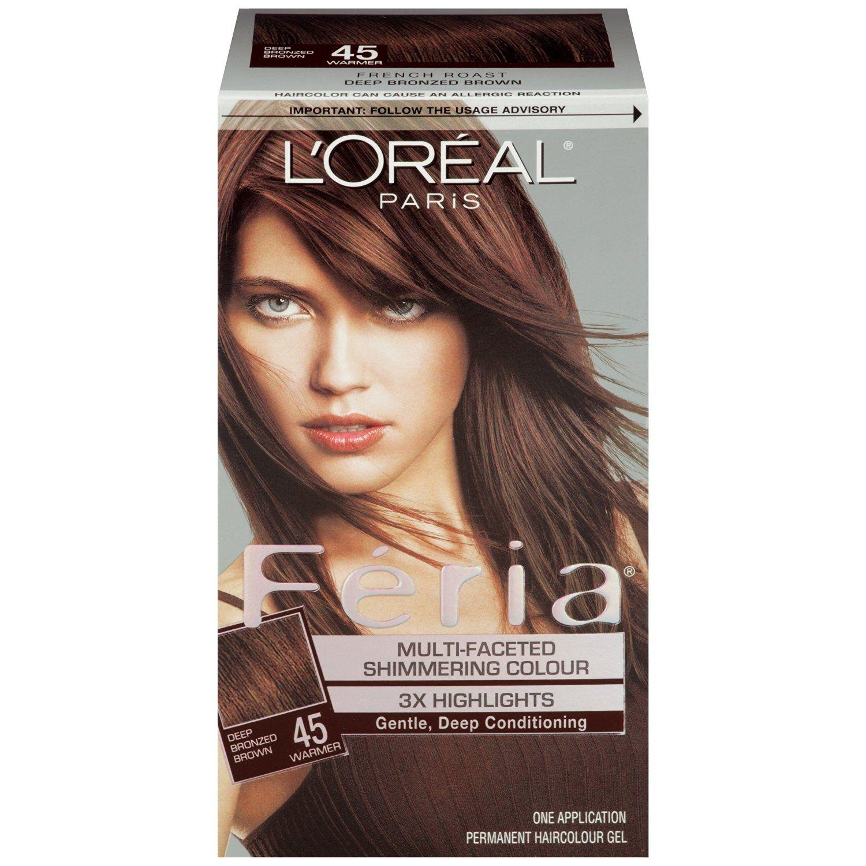 Lor Feria 45 French Roast Kit Brunettes Pinterest Hair
