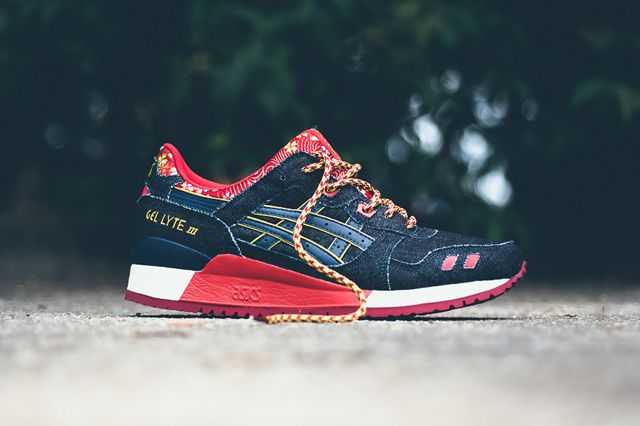 asics-gel-lyte-iii-kimono-navy-1. Denim on sneakers!   SneakerLoving ... 557716f727