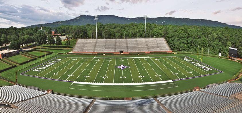 Paladin Stadium At Furman University Greenville South Carolina Stadium Furman University Sports Turf