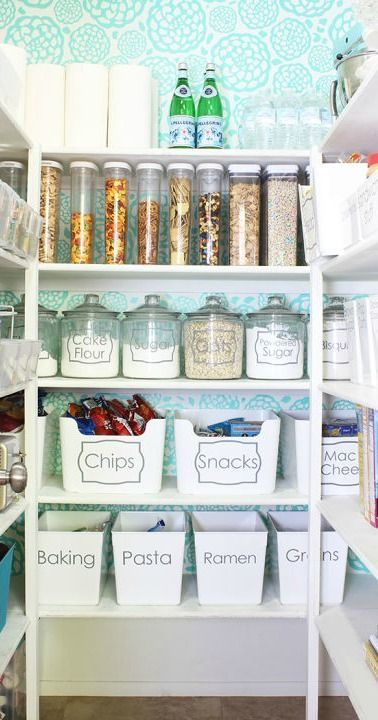 20 Organization Tricks To Make Your Pantry Feel Twice As Big With