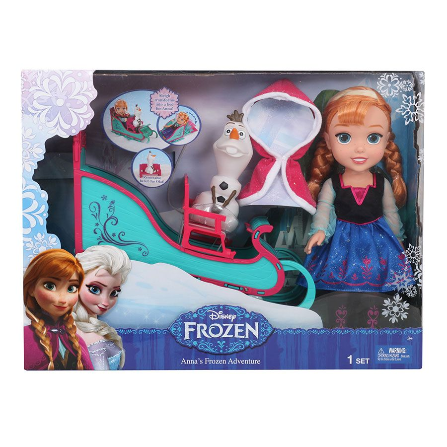 Frozen Toys R Us : Disney frozen toddler anna and sleigh toys r us