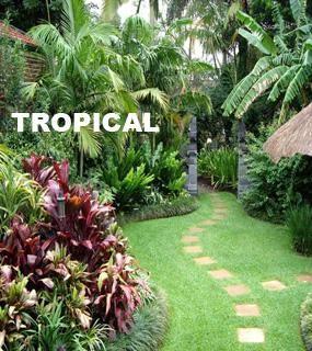 Tropical Garden Design on Landscaping Tropical Garden Design Type ...