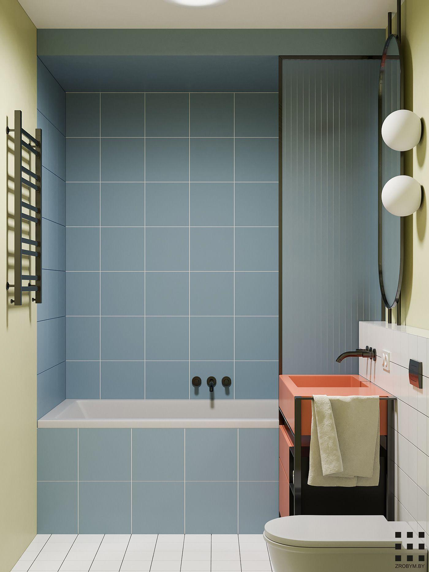 Banana Flat On Behance Bathroom Interior Design Bathroom Interior Bathroom Inspiration