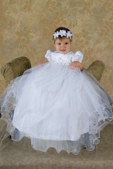 Baptism Dresses From Mexico | Baby Girl Christening Gowns | Mia's ...