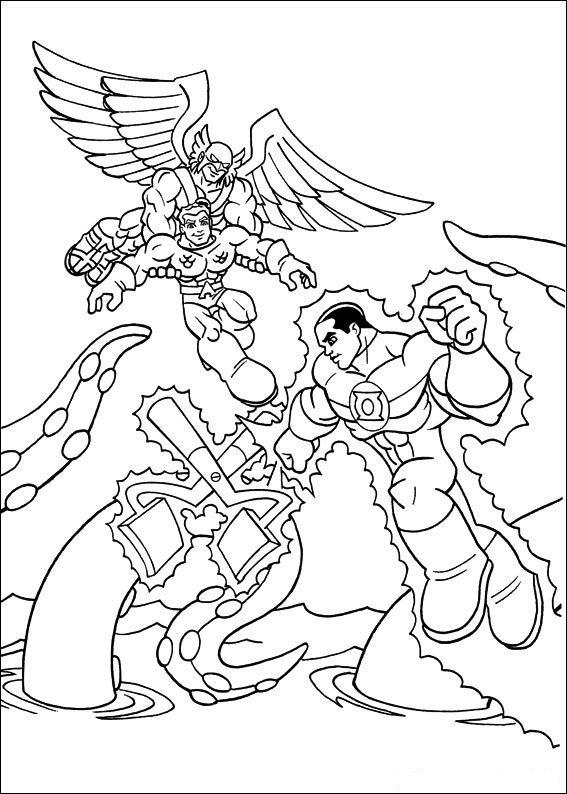 Dibujos para Colorear Super Amigos 6 | Dibujos para colorear para ...