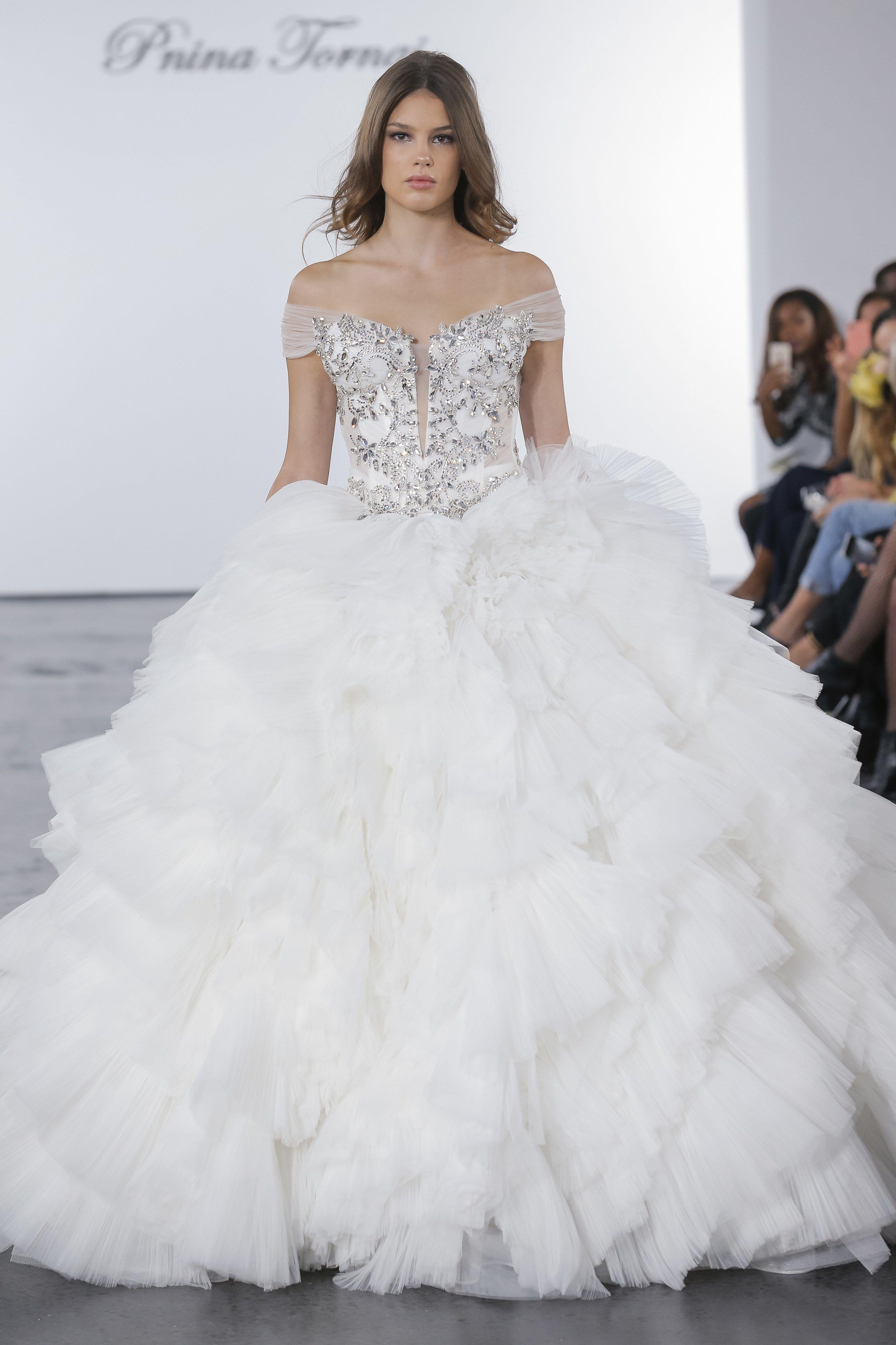 Pnina Tornai for Kleinfeld Bridal & Wedding Dress Collection Fall ...