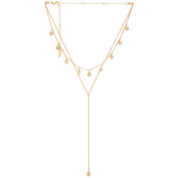 Layered Stone Necklace in Gold Ettika avKtR4MNko