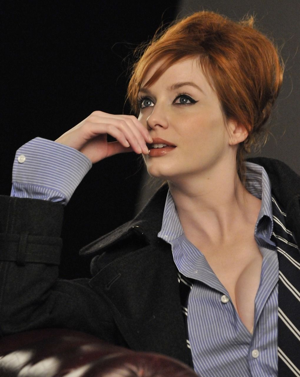 christina hendricks. probably not as obsessed with mad men as i