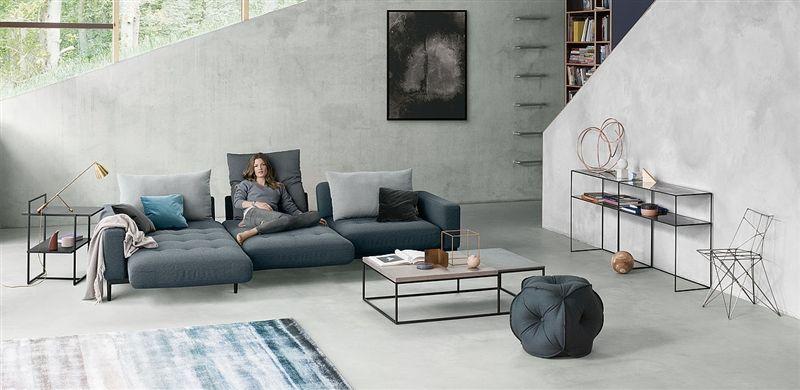 Ob minimalistischer Clean Chic ... | Ecksofas, Wohnen und ...
