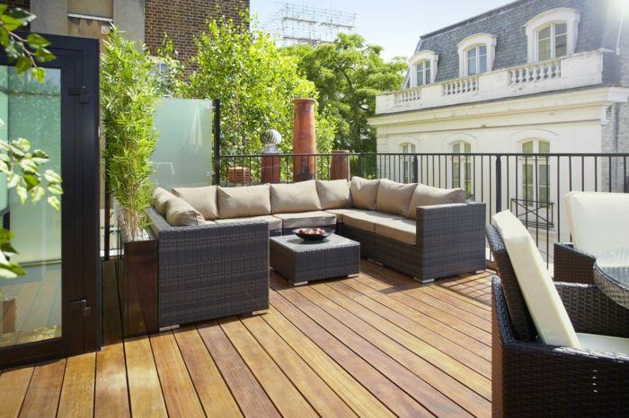 Terrassengestaltung Ideen Zum Einrichten Und Ausstatten Von Balkon ... Terrassen Und Balkongestaltung 35 Hubsche Beispiele