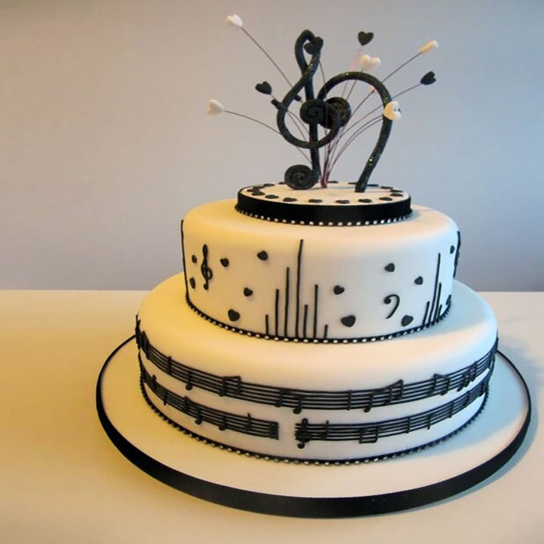 Cool Music Is Life On Instagram Cakes For Music Lovers Funny Birthday Cards Online Alyptdamsfinfo