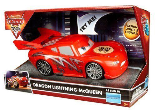 Disney Pixar Cars Toon Lights Sound Dragon Lightning Mcqueen By