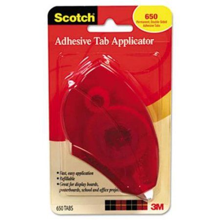 Adhesive Tab Applicator, White