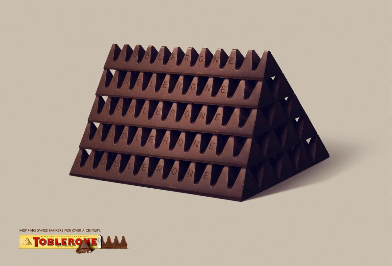 Toblerone Chocolate Ad | Design Ads | Pinterest | Toblerone chocolate