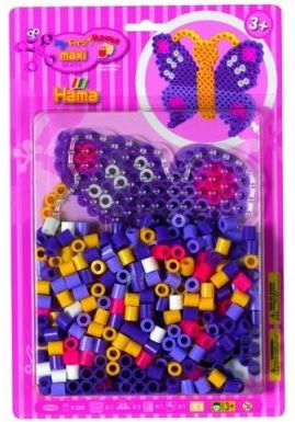 My First Hama Maxi Beads Butterfly Blister Pack