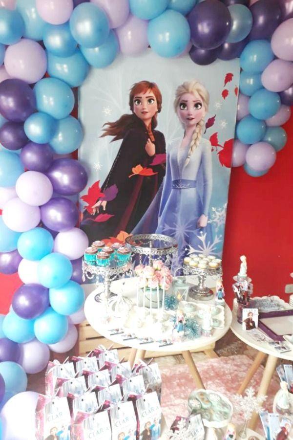 Frozen Ii Birthday Party Ideas Photo 29 Of 37 Frozen Birthday Frozen Themed Birthday Party Elsa Birthday Party