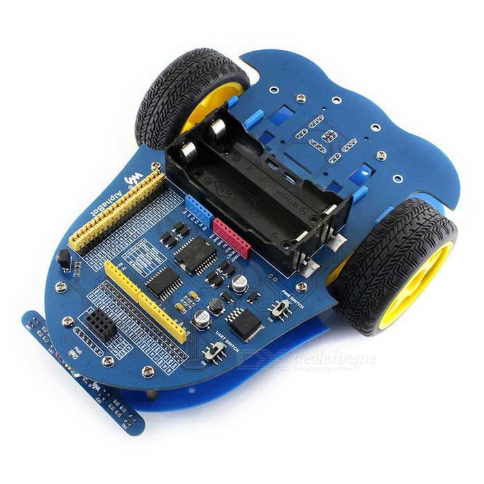 Waveshare AlphaBot, Mobile Robot for Raspberry Pi / Arduino - Blue. Find the cool gadgets at a incredibly low p