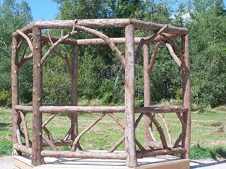 Rustic Garden FurnitureRUSTIC FURNISHINGSGAZEBOSRustic