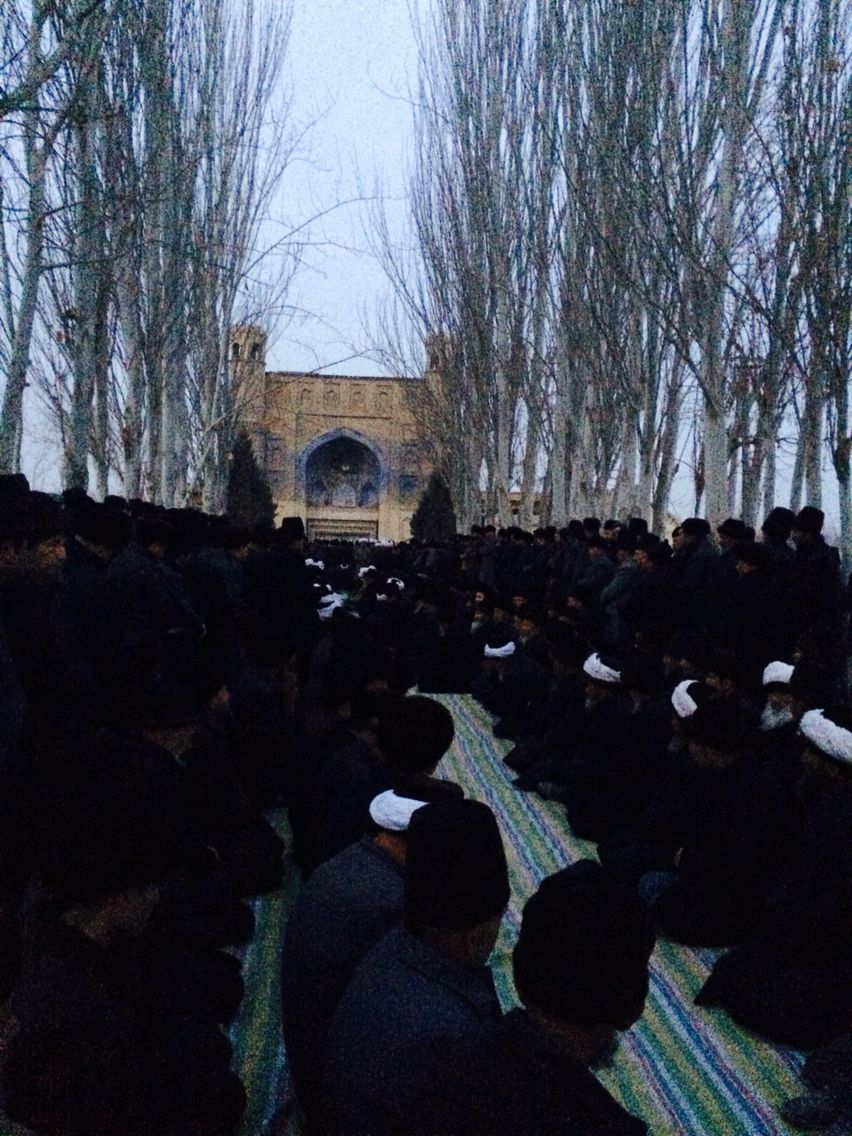 Xinjiang,hotan,qira,miyit namaz
