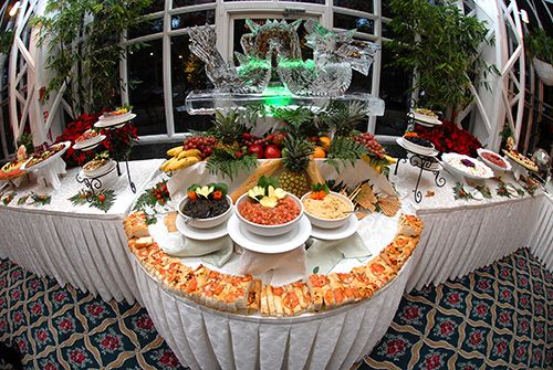 Wedding Reception Food Display New Jersey Photographers The Madison Hotel