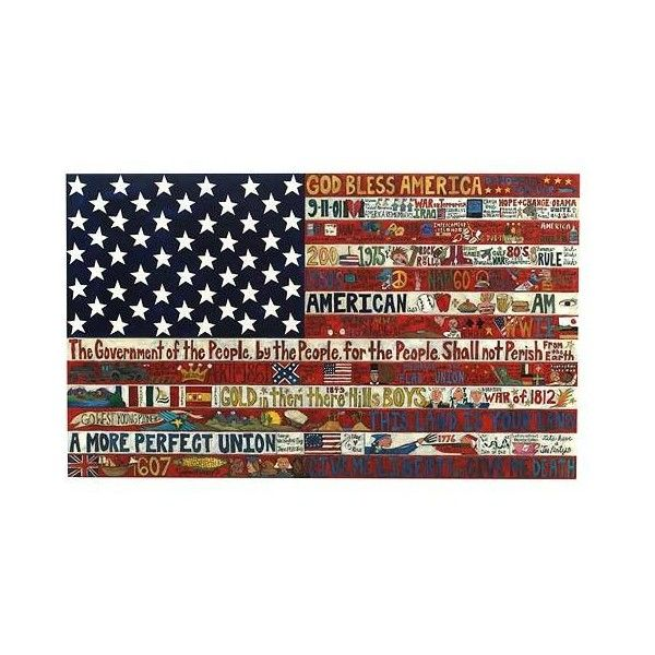 Flag Plaque American Flags Stars Stripes Wall Art Plaques Wood Painted Patriotic Uncommongoods 3 520 Found On Polyvore Wall Flag Flag Art Flag