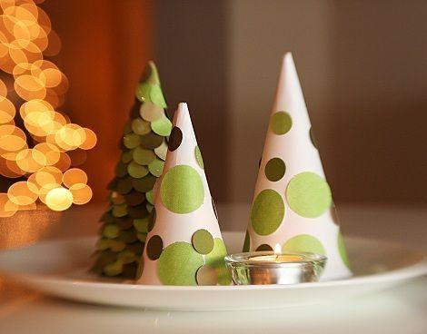 arbol de navidad casero rboles de Navidad Pinterest Casero