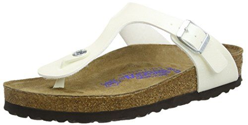 cc97623fe486 Birkenstock Gizeh 847471 - Magic Galaxy White (Leather) Womens Sandals 38 EU      For more information