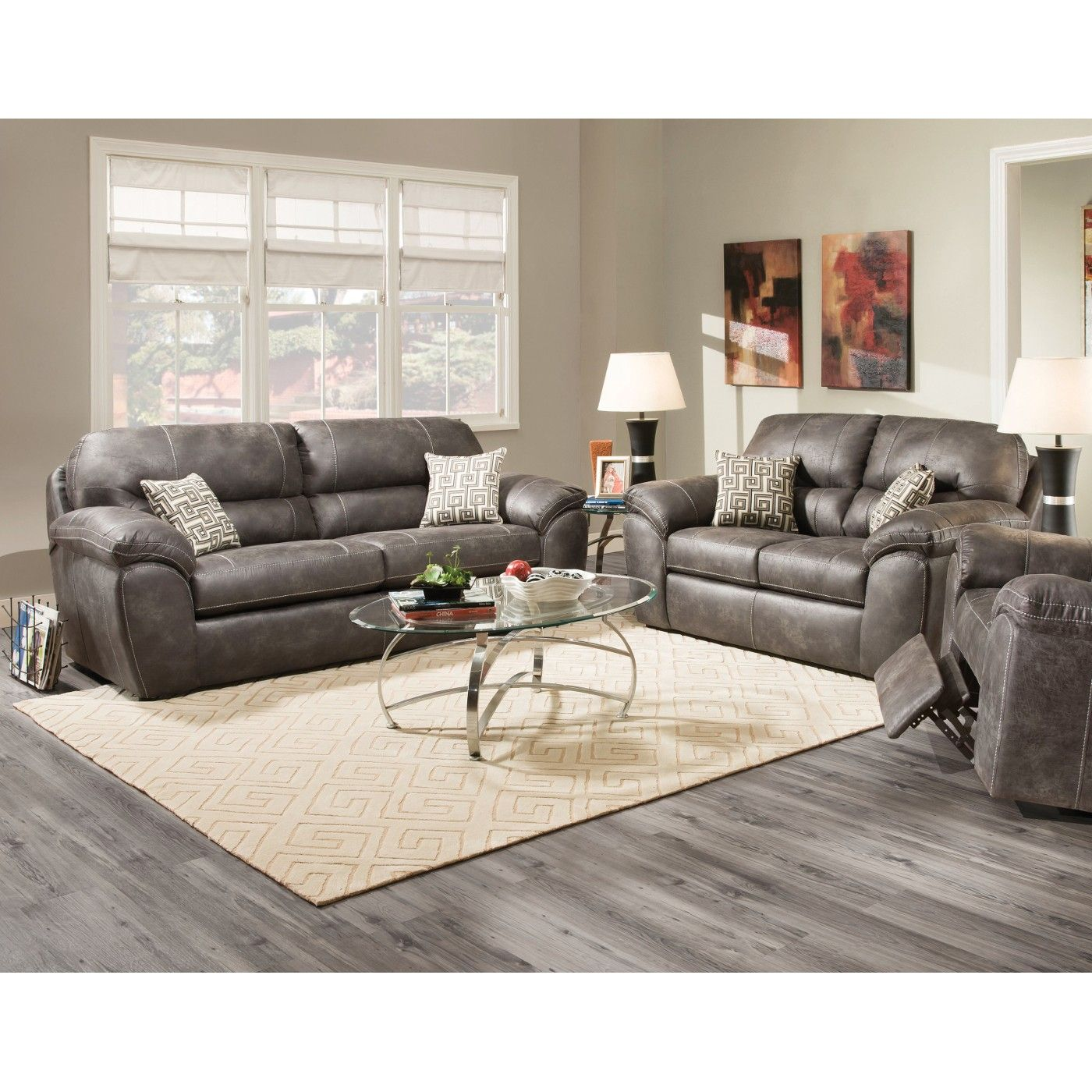 Ulyses Living Room Sofa Loveseat