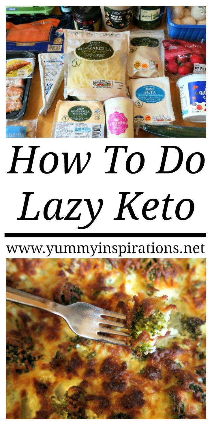 How To Do Lazy Keto - What is Lazy Keto? Cooking Lazy Keto Meals.