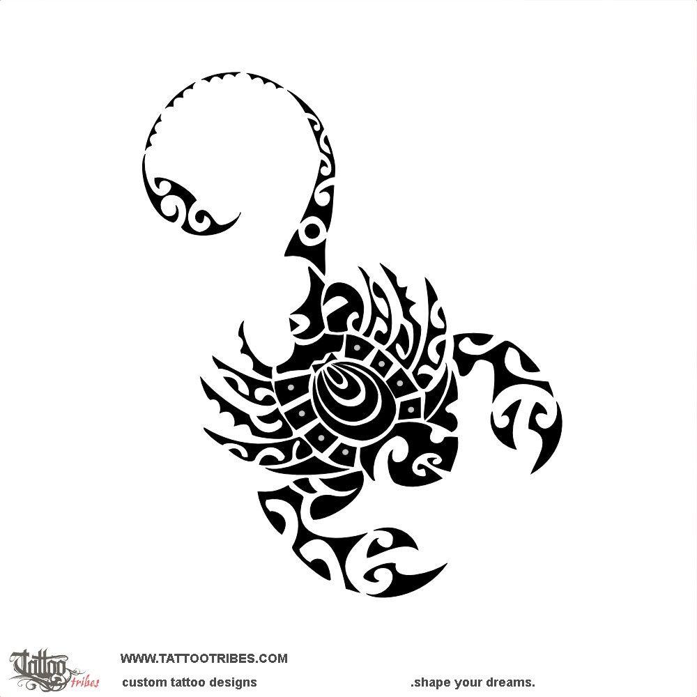 Tribal scorpion revamp this tribal scorpion tattoo was designed as