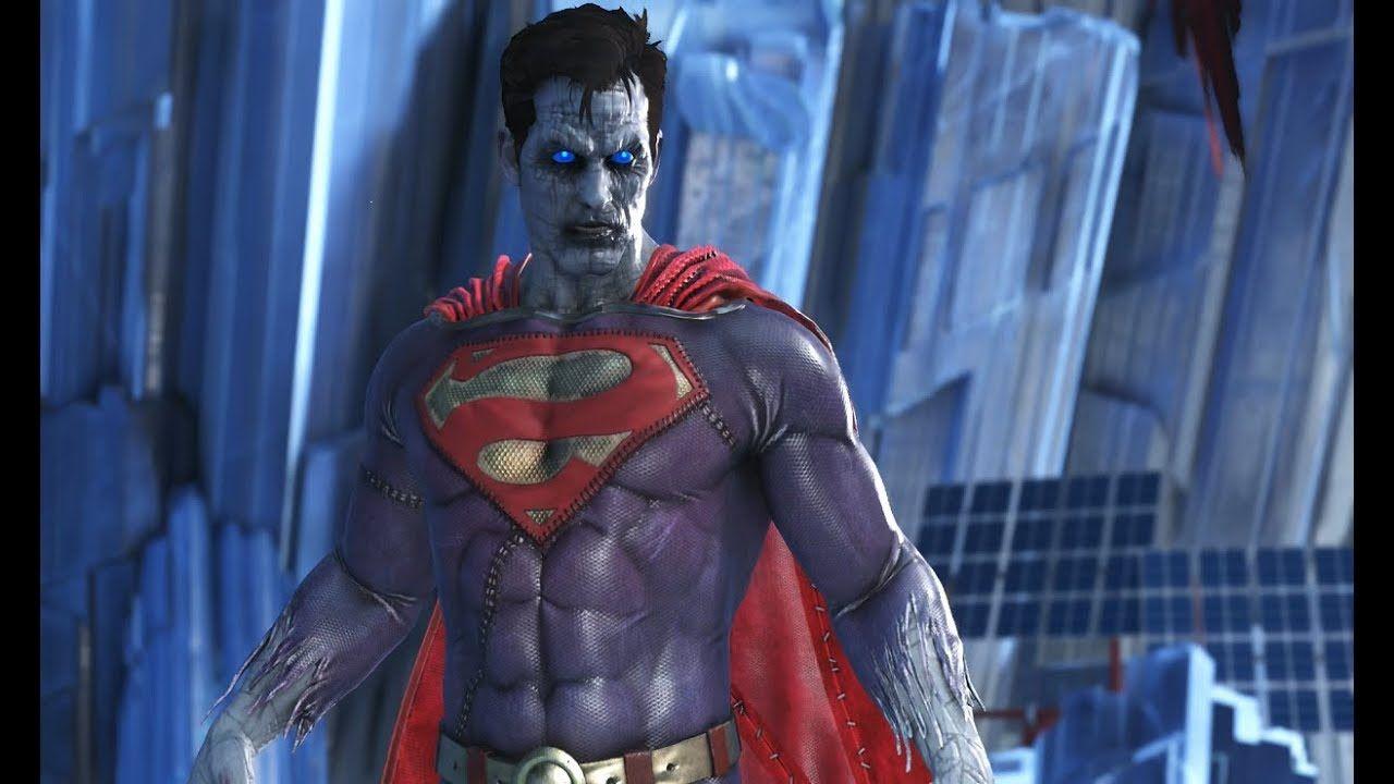 Bizarro Superman Gameplay From Injustice 2 Video Game Injustice 2 Superman Injustice 2 Superman