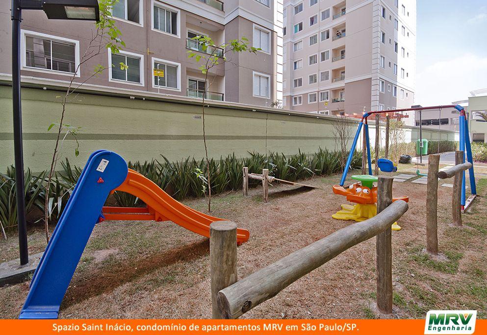Paisagismo do Saint Inacio. Condomínio fechado de apartamentos localizado em São Paulo / SP.