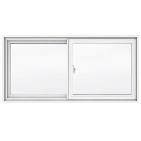 1700 Series Vinyl Clad Slider 47 3 8 Inch X 23 Inch 4 9 16 Inch Frame Vinyl Clad Windows Window Vinyl
