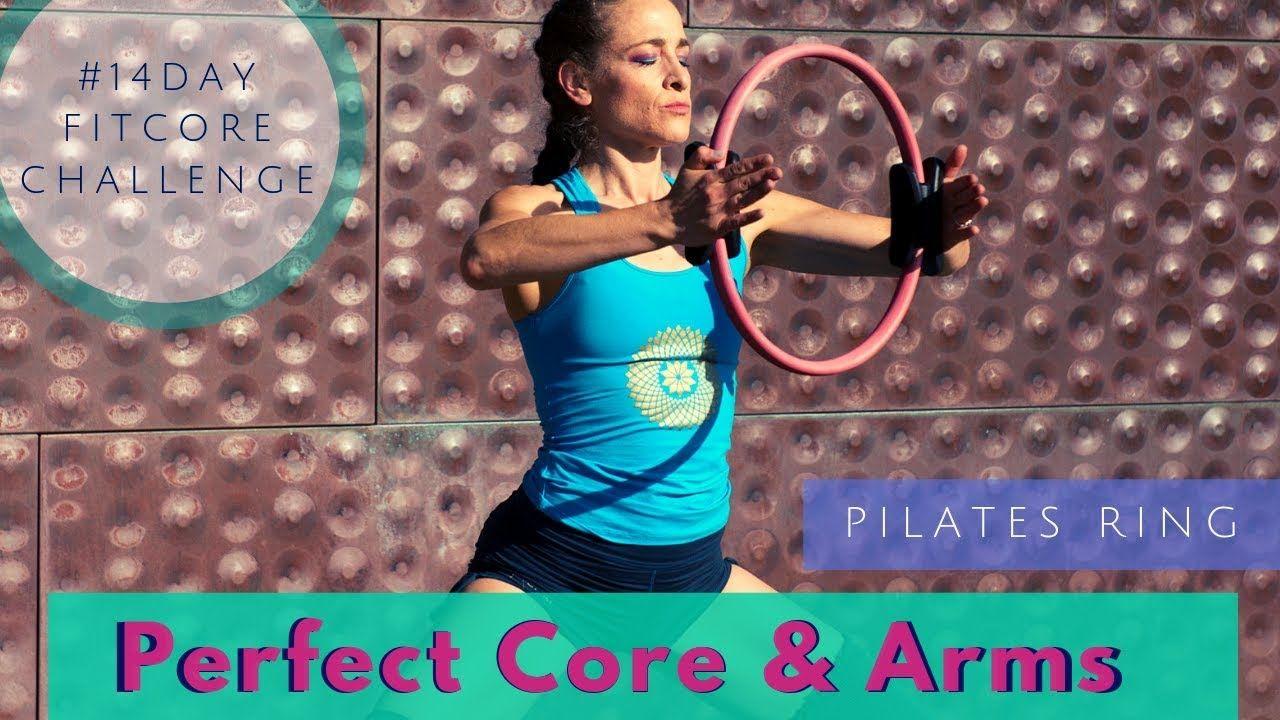 21 Minute Standing & Mat Perfect Core & Arms Pilates Magic Circle Workout #magiccircle