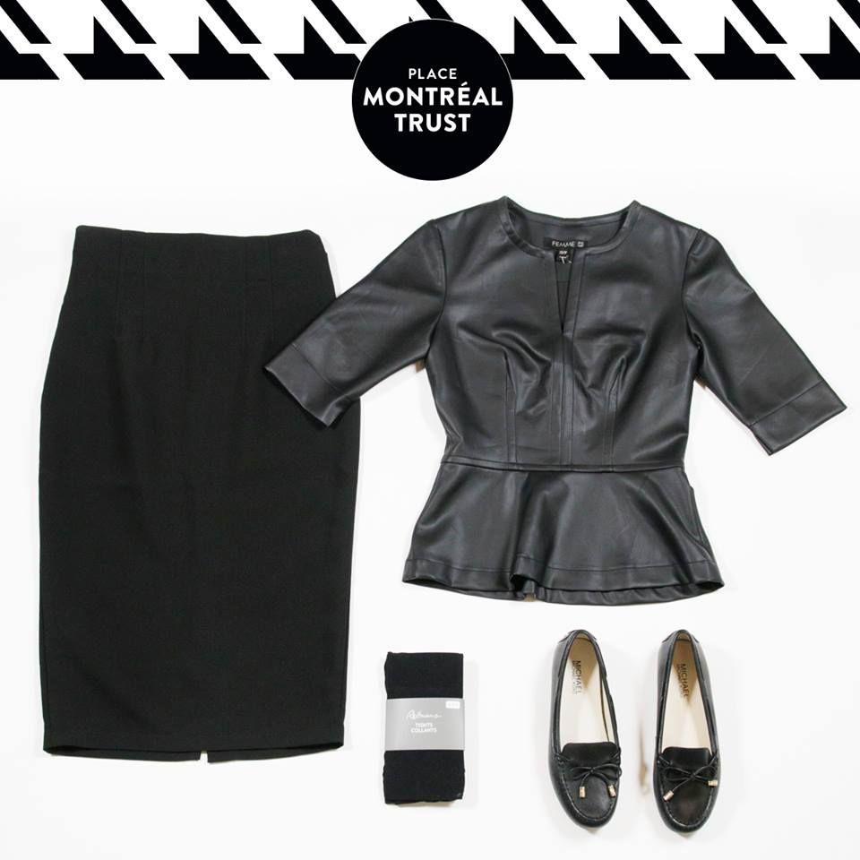 #PMTLook  Pour un « #meeting » d'#affaires réussi, rendez-vous chez Femme de Carriere : goo.gl/w2huJJ.  Collants - Reitmans. Chaussures - Little Burgundy Shoes. #PMT #Look #Mtl #Shopping #OOTD #Monday