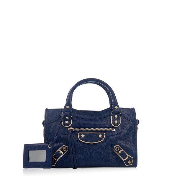 740369ad415b BALENCIAGA Classic Mini City edge-line cross-body bag