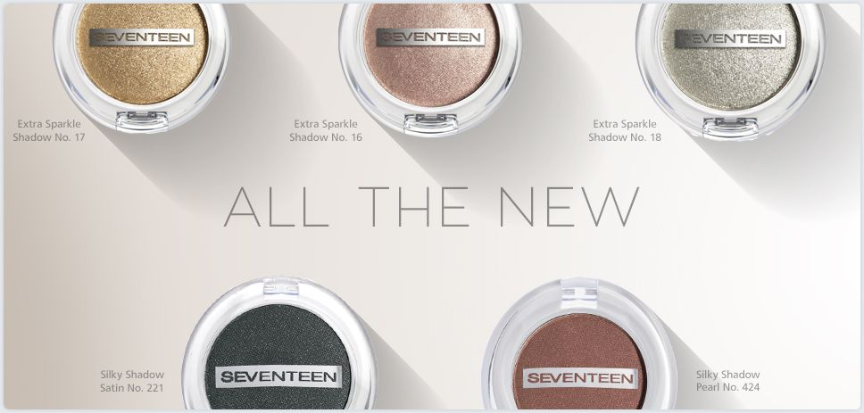 All the new shadows Greek makeup brand