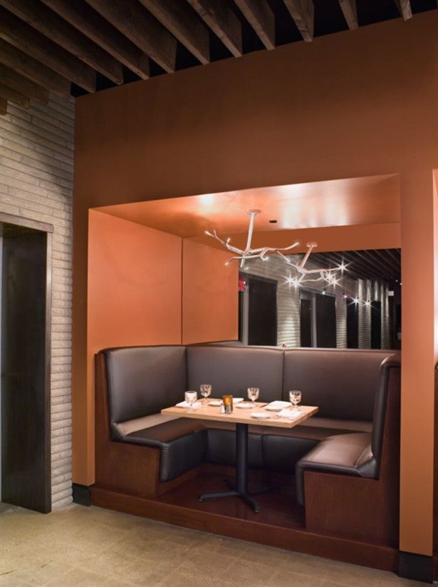 Kitchen Booths Counter Decorating Ideas Furniture Awesome Booth U Shape Brown Leather Bench Unique Pendant Lamp When To Build A