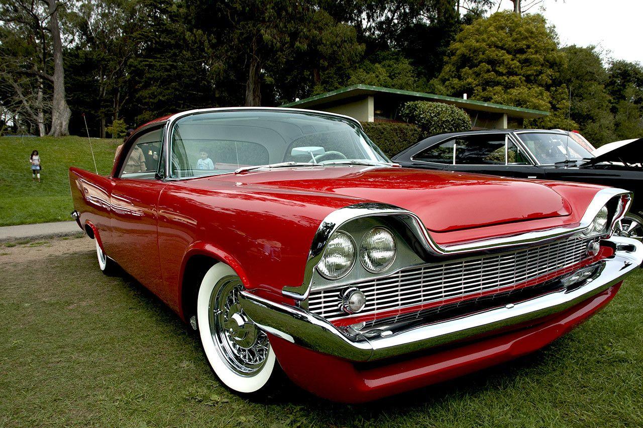 1958 Chrysler Windsor Owner Chuck Cushner In His Own