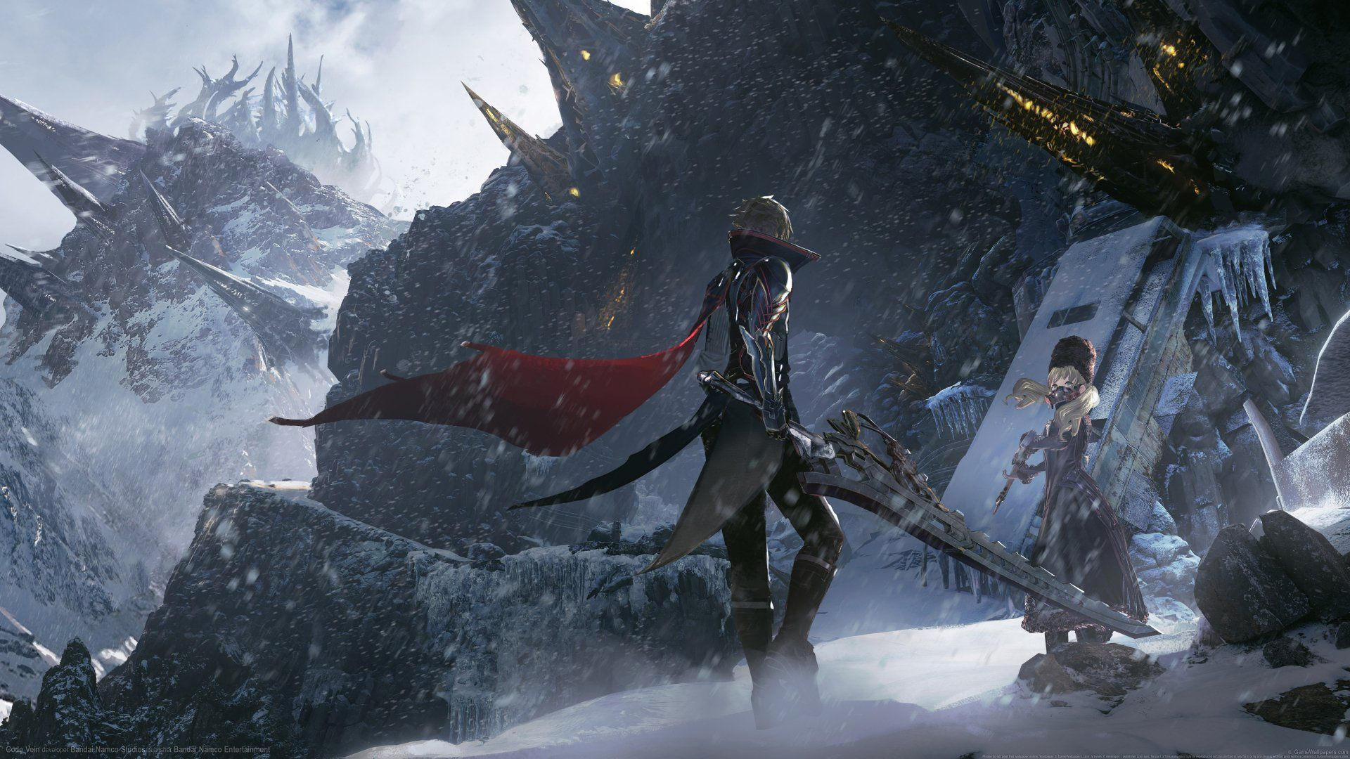 3840x2160 Code Vein Wallpaper Background Image View Download Comment And Rate Wallpaper Abyss Coding Veins Background Images