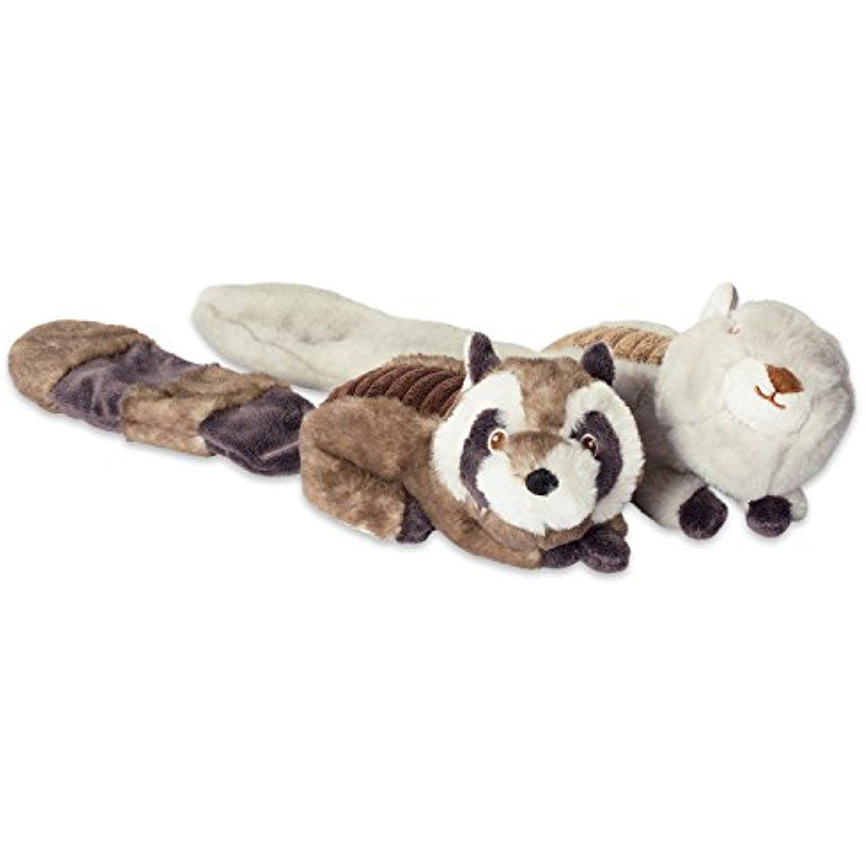 Dii bone dry crinkle noise squeaking plush body dog toy