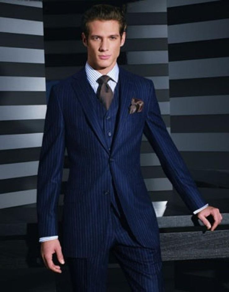 3 piece suit | Men's fashion | Pinterest | Windsor knot, Grown man ...